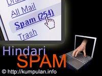 Hindari E-mail Spam atau Pengganggu